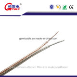 Hi-Fi estéreo Cable de altavoz con aislamiento de PVC transparente