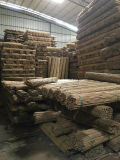 Природные бамбук с пластиковой защиты