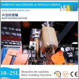 HDPE pp. Gallonen Jerry macht Plastikstrangpresßling-Blasformen-Maschine ein