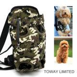 Soporte delantero mascota perro Productos Bolsa de paquete de delantera de malla exterior