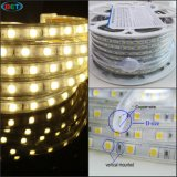 Luz de tira flexible de la decoración los 50m 60LEDs LED de ETL Crismas