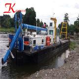 Kundenspezifischer Hochleistungs--Scherblock-Absaugung-Sand-Bagger für den Export