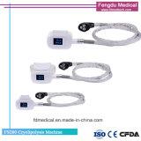 Quatro Puxadores Cryolipolysis gordura da máquina para o corpo Conturing Congelação