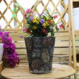 Круглые высокого качества китайские оптовые и квадратные цветочные горшки магнезии