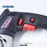 Furadeira elétrica com Driling Makute 10mm Ferramentas Manuais da Máquina