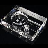 Design de luxo High-End titular de um charuto padrão transparente&Estilo Clássico Cinzeiro de charutos de cristal austríaco