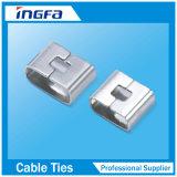 ステンレス鋼ケーブルのタイバンドのためのSs 316のバンドクリップ