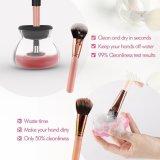 Commerce de gros boîte cadeau en plastique de qualité élevée de maquillage nettoyeur de brosse