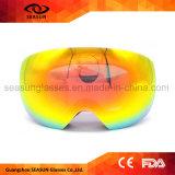 Le créateur fait sur commande UV interchangeable de 400 lentilles attache des lunettes de ski de surf sur neige