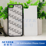 2D caixas do telefone do Sublimation 3D para o iPhone 8, iPhone X