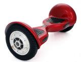 10 vespa eléctrica del equilibrio elegante del uno mismo de la rueda de la pulgada dos con el neumático inflable