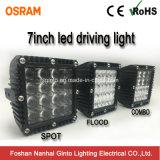 Spätestes Quadrat 7inch imprägniern Osram LED fahrendes Licht für nicht für den Straßenverkehr (GT1007Q)