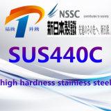 SUS440c de het de Hoge Plaat van het Roestvrij staal van de Hardheid/Blad van de Rol/Staaf van de Staaf van de Pijp