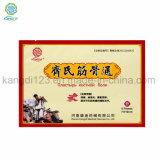 Fabricante de Chili parche de alivio de la Artritis Capsicum yeso el yeso de Chili con mejor calidad