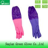 Перчатки домочадца PVC втулки высокого качества экстренные длинние