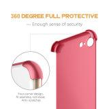 360度の緩和されたガラスの保護装置とのiPhone 7のための完全な保護携帯電話の箱