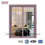 Portello di vetro di scivolamento della stanza da bagno della fabbrica di Foshan con il blocco per grafici di alluminio