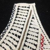 хлопка сбывания 25*35cm одежда конструкции ворота вязания крючком ворота горячего высокомарочного ложная покрашенная изготовленный на заказ латает шнурок Hm2035