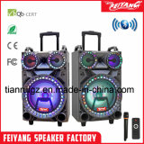 Altoparlante chiaro di Bluetooth di potere del LED grande con il pollice F12-22 del carrello 12