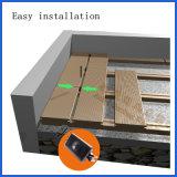 Imperméable en bois classique et le WPC Composite Decking de jardin en plastique 150*25mm