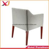 Sala de jantar em madeira de alumínio imitado Hotel Banquetes Cadeira de jantar restaurante