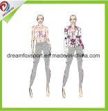 نساء لياقة لباس [جم] ملابس رياضيّة صنع وفقا لطلب الزّبون يطبع أسلوب نظام يوغا لباس