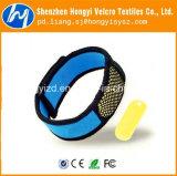 De aangepaste Nylon Afstotende Armband Velcrotape van de Mug