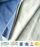 Paño grueso y suave micro del poliester para la chaqueta y la manta