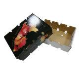 Manga feitas sob encomenda da impressão do bloco liso que empacotam a caixa