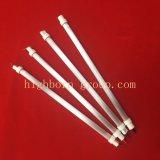El tubo de calefacción de Cuarzo blanco
