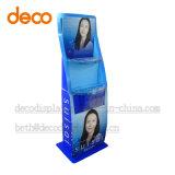 Punta del estante de visualización de la cartulina del soporte de visualización del papel de la compra para la venta al por menor