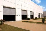 Высокопрочная промышленная дверь ролика, большая алюминиевая дверь