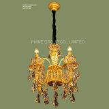 05124 Phine iluminación colgante moderno con Swarovski o K9 Decoración de cristal Lámpara de fijación de la luz de lámpara de araña