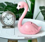 Decoração e presente da mesa do flamingo do ofício de Polyresin