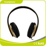 Mirophone를 가진 Foldable 입체 음향 타전된 헤드폰