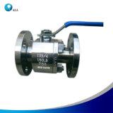 Acero inoxidable de alta calidad de la brida de entrada lateral de la válvula de bola flotante