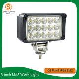 Il lavoro LED del chip 45W di Epistar LED illumina quadrato degli indicatori luminosi dell'automobile e del camion di 12V 24V il grande che osserva gli indicatori luminosi della jeep