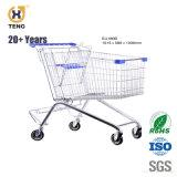 Ue210um carrinho de compras de supermercado de Metal