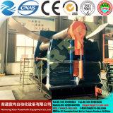 4 lámina metálica hidráulico de rodillos de rodadura de la maquinaria