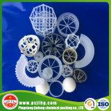 Bola hueco polihédrica plástica para el embalaje del equipo del tratamiento de aguas