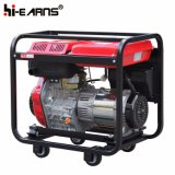 Air-Cooled開いたフレームタイプディーゼル発電機の反動の開始(DG6000)