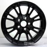 Черный& перед лицом польского красного цвета бронзы Silvery 14-дюймовыми легкосплавными колесными дисками ступицы колеса