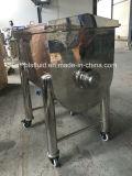Edelstahl-horizontaler Mischer, zum der speziellen Tiernahrung zu mischen