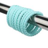 De plastic ABS Ringen van het Gordijn van de Douche met Magneten voor het Gordijn van de Douche
