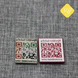 Precio de fabricación personalizada de buena calidad nombre corporativo insignias