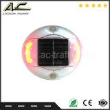 За круглым столом 360 степени отражает литой Illuminatin шпилька дорожного движения солнечной энергии
