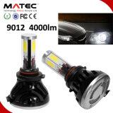 LED車のヘッドライトH1 H3 H7 H11 H4 880 881 9006 9005本の穂軸LEDのヘッドライト、極度の明るいH11 LEDのヘッドライト