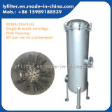 """304/316/316L boîtier de crépine de cartouche du faisceau 30 de l'acier inoxydable 5 """" pour le système industriel de traitement des eaux"""