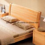 Festes hölzernes Bett-moderne doppelte Betten (M-X2301)