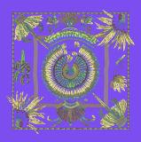 オーダーメイド、100%の絹のスカーフの正方形